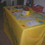 Informationsstand in Scharnstein 2008